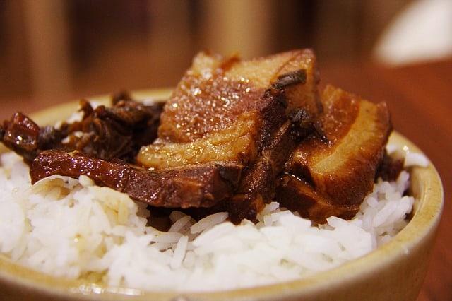 מנסף – אורז עם בשר